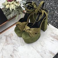 gold ultra high heels sandalen großhandel-2019 Frühjahr heiße klassische überlegene schöne und langlebige Mode weiblichen Sandalen, zt20 Rindsleder Ultra High Heel Sandalen