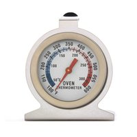 fırın çevirme termometresi toptan satış-Gıda Et Sıcaklık Termometreler Stand Up Dial Dial Termometre Ölçer Gage Paslanmaz Çelik Ölçer Gage Mutfak aracı FFA2127