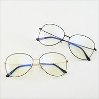 comprar gafas online al por mayor-Venta al por mayor Gu-chi 2019 nuevo espejo plano unisex estudiante en línea para poner gafas azules de moda de compras 0205
