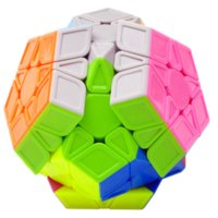Wholesale 3 QiYi s QiHeng Megaminx Magic Cube Sides Puzzle Cube Toy for Kids x5x12 Cubo Megico