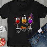 анти морщин очки оптовых-Футболка с тремя бокалами для Хэллоуина