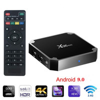 Wholesale media player for sale - Group buy Hot Android box X96 mini S905w GB GB WiFi Lan k ultra smart tv Cutsom Logo television k G wifi Media player
