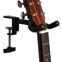 apoya guitarras al por mayor-Soporte de guitarra portátil, soporte de guitarra - Ajuste hasta 40 mm de escritorio - No incluido
