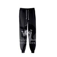 3d print joggers sports achat en gros de-Mens 3D nipsey hussle Jogger Pantalon Printemps Adolescent École Sportif Casual R.I.P Crayon Pantalon Imprimé Designer