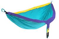 ingrosso mosaici all'aperto-Sacco a pelo del paracadute del tessuto del paracadute del campo di nylon del cotone di colore della persona all'aperto Sacchi a pelo di campeggio Vendita calda 24ly E1