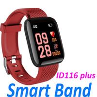 özel spor bilezik toptan satış-ID116 Artı Akıllı İzle Erkekler 1.3 'Özel Arama Dinamik Kan Basıncı Oksijen Mesajı Itin Çok Spor Spor Smartwatch Bilezik PK Id115