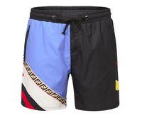 siyah üst beyaz pantolon toptan satış-2019 Yaz Yeni Varış En Kaliteli Sf ENDI Giyim erkek Şort FF Siyah Beyaz Baskı Plaj Pantolon M-3XL