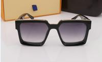 Neueste Kollektion Von 54mm Mode Unisex Quadratische Vintage Polarisierte Sonnenbrille Mens Polaroid Frauen Nieten Metall Design Retro Sonnenbrille Gafas Oculos Bekleidung Zubehör Sonnenbrillen