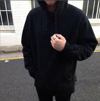 hoodies de algodão venda por atacado-Logotipo do Hoodie Hip Hop Streetwear Clássico Bordado Carta Marka Marka Fleece Hoodies Algodão Casal Moletom Com Capuz Moletons HFSSWY082