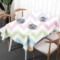 tischdecken tischwäsche großhandel-Geometrie Böhmisches Leinen Wasserdichtes Polyester Rechteck Tischdecken Dekorative Wohnkultur Tischdecke Hochwertige Tischdecke