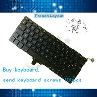 Wholesale macbook a1278 keyboard resale online - A1278 French Spanish Russian Germany US UK Keyboard For Macbook Pro quot send keyboard screws MC700 MC724 MD313 MD314