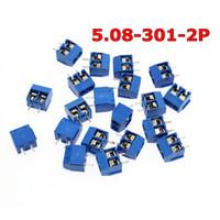 Wholesale terminal blocks pins resale online - 08 P P Pin Screw Terminal Block Connector mm Pitch
