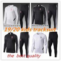 sweatshirt çocuklar ceketler toptan satış-19 20 çocuklar JuvENTUS ceket Eğitim takım elbise 2019 2020 çocuk RONALDO DYBALA MANDZUKIC erkek çocuk ceket eşofman Kazak üniforma
