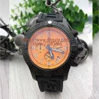 мужская стрелка для часов оптовых-Relogio Masculino Мужские часы Роскошные наручные часы Высококачественные кварцевые шестигранные Super Avenger II Хронограф Мужские резиновые часы Montre de luxe