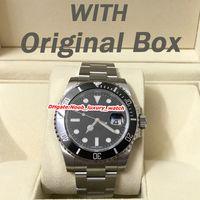 luxury watches venda por atacado-Relógio de luxo 40mm aaa mens relógios de luxo 116610LN 116610LV 116619LB relógio automático 2813 movimento Ceramaic moldura relógios relógio de pulso
