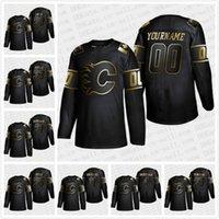ingrosso youth hockey jersey-2019 Golden Edition maglia Calgary Flames Johnny Gaudreau Mens Womens Youth Matthew Tkachuk James Neal Mark Giordano Jersey personalizzata Hockey