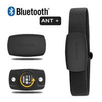 sangles thoraciques achat en gros de-Cardiofréquencemètre Magene Bluetooth4.0 Capteur ANT + pour GARMIN Bryton IGPSPORT Ordinateur de course à pied avec ceinture de poitrine MHR10