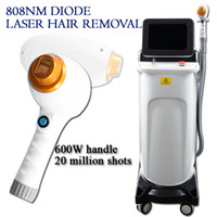 Wholesale permanent beauty machine for sale - Group buy Permanent Painless nm Diode Laser Hair Removal Machine nm Depilation Laser Permanent Hair Removal salon use beauty equipment