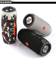 Wholesale smallest portable subwoofer resale online - Hot Small Battle Drum Heavy Subwoofer Bluetooth Speaker Portable Portable Power Supply Audio Waterproof Double Horn Hi Fi Box Speaker