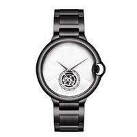 mavi çift saat toptan satış-Son high-end moda izle, volan tasarımcısı, erkek ve kadın saatler, çift saatler, gül, altın, gümüş, siyah ve mavi saatler, w