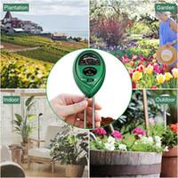 Wholesale flower soil resale online - Soil Moisture Meter in Garden Plant Flowers PH Tester Moisture Light Meter Testing Tools Garden Supplies OOA6728