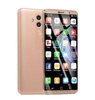 32gb rom goophone оптовых-5.8 дюймовый Goophone Mate10 Pro 1 ГБ ОЗУ 4 ГБ ROM Сотовый телефон MT6580P Четырехъядерный процессор Dual SIM Разблокированный смартфон X113