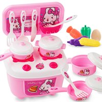 Wholesale kids pretend play toys for sale - Group buy Joy Kitchen Boys Girls Kitchen Food Fruit Birthday Cutting Kids Pretend Play Educational Toy