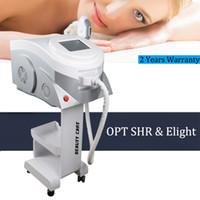 göz kırışıklık makineleri toptan satış-E-Işık cilt pigmentasyon vasküler kırışıklık giderme makinesi IPL sıkılaştırmak kalıcı epilasyon makinesi / SHR OPT makinesi
