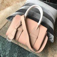 saco de couro bolsa de laptop cruz vermelha venda por atacado-Nova sacola de marcas famosas bolsas de ombro bolsas de couro real Clássico Sacos de vermelho Cross Body sacos de laptop de negócios feminino 2019 bolsa