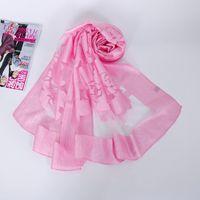 Wholesale polyester hijabs for sale - Group buy women hijabs shawl fashion floral scarf polyester hijab bandana capes feminino inverno shawl silk scarves shawls wraps