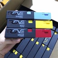 ручная черная бумага оптовых-Упаковка картриджа Rove vape pen пустые черные тележки Только пакеты Коробки Пакеты Бумажный пакет Коробка подходит Картриджи Rove Tank 11 вкусов DHL