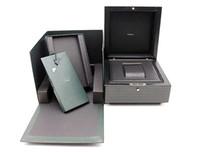 kostenlose kartenmodelle großhandel-Ursprüngliche korrekte Papiere Karten-Tags Luxus neueste Marke Woody Uhrenbox für AP-Boxen Broschüren Uhren Kostenlose benutzerdefinierte Modell Seriennummer