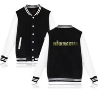 chaqueta muerta caminando al por mayor-2019 nueva moda The Walking Dead Zombies chaqueta mujeres sin tapa hombres sudaderas con capucha sudadera chaqueta de moda ropa