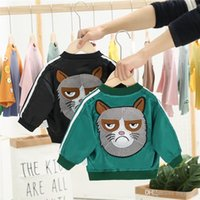 Wholesale ribbon collars dogs for sale - Group buy New Arrivals Cool INS Kids Boys Girls Coat Autumn Spring Cartoon Dog Baseball Collar Stylish Front Pockets Zipper Children Outwears Jackets
