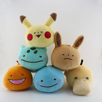 Wholesale turtle stuffed animals for sale - Group buy New Pikachu Ibu Small Fire Dragon Frog Seed Jenny Turtle Surprise Pokemons Plush toys Stuffed Animals Detective Pikachu Best Girls For Kids
