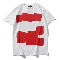 diseñadores de ropa superior al por mayor-Camiseta de diseñador para hombre Tops de verano Camisetas casuales para hombres, mujeres Camisa de manga corta Marca de ropa Patrón de letra Camisetas impresas Cuello redondo
