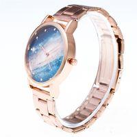 vogue quarzuhr großhandel-Dressing Damenuhr Analog Quarz Vogue Armbanduhren Geschenk Damenarmband zegarek damski montre femme