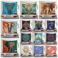 ingrosso decorazione domestica della boemia-26 Stili Bohemian Mandala Tapestry Beach Asciugamano Scialle Stampato Yoga Mats poliestere Asciugamano da bagno Decorazione della casa Pad all'aperto CCA11527 30 pezzi