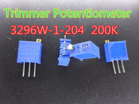 Wholesale 10pcs New Trimmer Potentiometer W K ohm Trim Pot Trimmer Potentiometer in stock