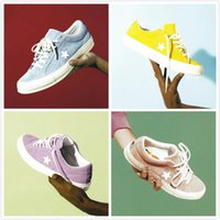 Wholesale star sneakers for men for sale - Group buy Cheap Tyler The Creator x One Star OX Golf Le Fleur Fashion Designer Sneakers Casual Shoes for Skateboarding Sport Shoes for Men Women