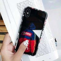 housses iphone couvert achat en gros de-cas de téléphone de luxe designer iphone x max Pour iphone 8 P X XS iphone 6 cas un héros figure couverture de téléphone retour livraison gratuite