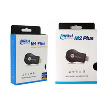Wholesale airplay iphone for sale - Group buy Newest Anycast M2 M4 Plus DLNA Airplay G WiFi Display Miracast Google Chromecast HDMI Multi Display P Receiver For Phone PC