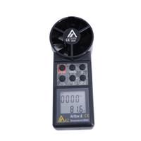 medidor de vazão para ar venda por atacado-AZ8906 Medidor De Volume De Ar Digital Anemômetro Medidor De Vazão De Ar AZ-8906 Medidor De Velocidade Do Vento