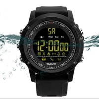 Wholesale pedometer gift for sale – best EX17 Pedometer Smart Watch Professional Waterproof Smartwatch GPS Alarm Clock Message Reminder Smartband For Men Women Gifts