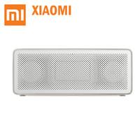 haut-parleur bluetooth box box xiaomi achat en gros de-Colonne Bluetooth haut-parleur Bluetooth d'origine Xiaomi Bluetooth 4.2 Square Box 2 mains libres AUX HD qualité sonore légères et portables