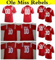 e6bbcac27dd Customize 2019 Ole Miss Rebels 10 Eli Manning 10 Chad Kelly 14 Bo Wallace 49  Patrick Willis 5 Robert Nkemdiche College Football Jerseys