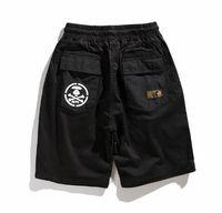 съемные шорты мужские оптовых-19ss новая уличная мода уличные мужчины AAPE съемные шорты два брюки