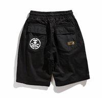 sökülebilir şort erkekleri toptan satış-19ss yeni sokak moda sokak erkekler AAPE ayrılabilir şort iki pantolon