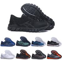 14f0a17bb ASICS 2019 Gel-Quantum 3Gel-Quantum 360 II Zapatos para hombre Zapatillas  de deporte Azul Rojo Negro Blanco Alta calidad Entrenamiento barato Moda ...