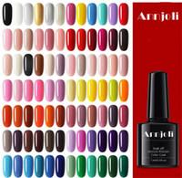 лучшие гелевые краски для ногтей оптовых-Лучшие продажи 144 цветов Shimmer Nude Nails Гель для Женщин Длительный Высокое Качество УФ-Блеск Nail Bling Гель Польский бесплатная доставка.